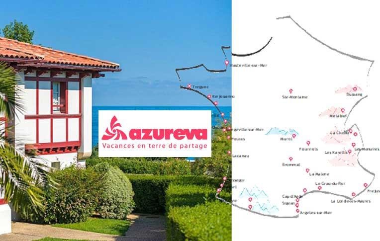 Azureva villages et Résidences de vacances en France